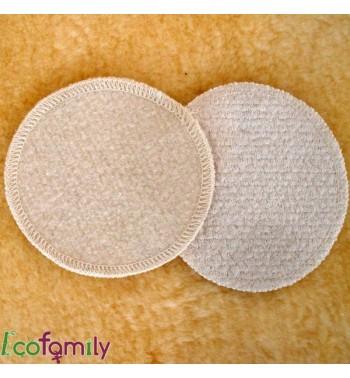 Coussinets en laine et soie