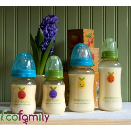 Baby bottle without bisphenol A Green to Grow