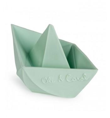 Bateau origami en caoutchouc Oli and Carol pour le bain (ou pas)