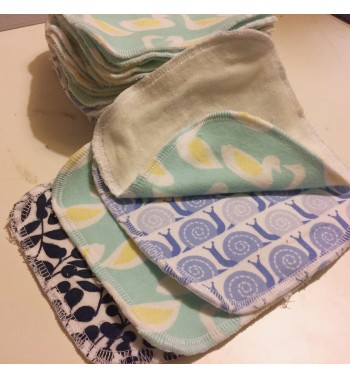 Washable wipes 5 pieces