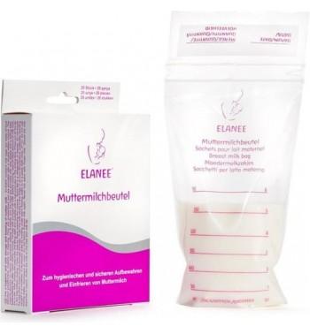 Sachet pour conserver le lait maternel Elanee