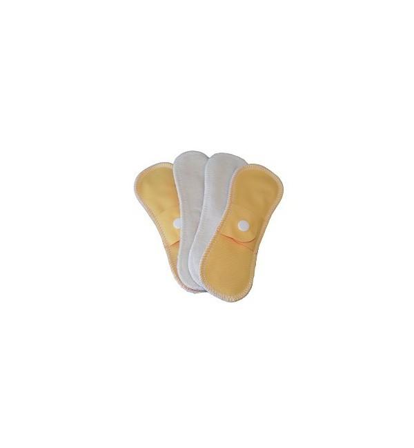 Serviettes intimes en coton bio et imperméables