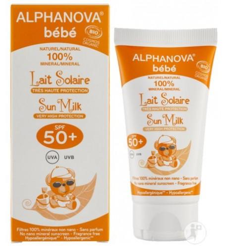 HYPOALLERGENIC BABY SUN SPF 50 | ALPHANOVA