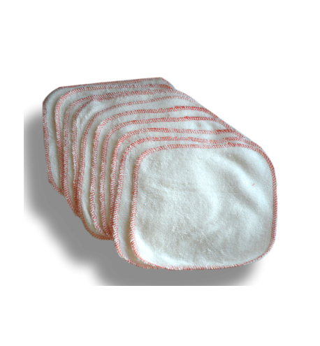 Washable wipes 10 pieces