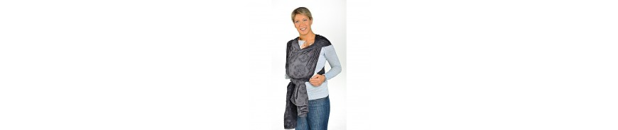 The carrying baby sling made with jacquard weave